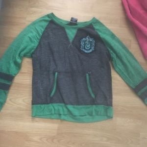 Hot topic Harry Potter slytherin sweater